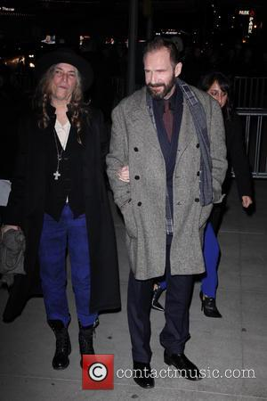 Patti Smith and Ralph Fiennes - New York premiere of The Grand Budapest Hotel at the Alice Tully Hall -...