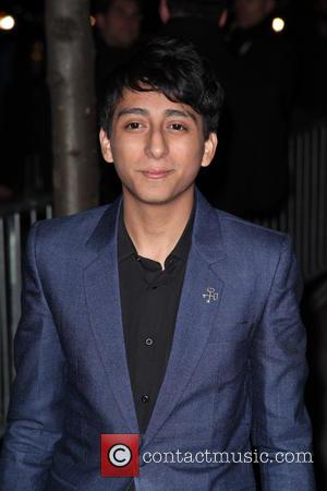 Tony Revolori - New York premiere of The Grand Budapest Hotel at the Alice Tully Hall - Outside Arrivals -...