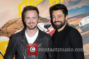 Aaron Paul and Dominic Cooper
