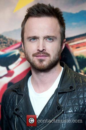 Aaron Paul - Need for Speed Fan Screening held at the Odeon Leicester Square - Arrivals. - London, United Kingdom...