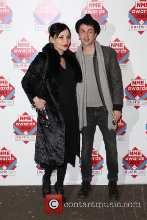 Pearl Lowe and Danny Goffey