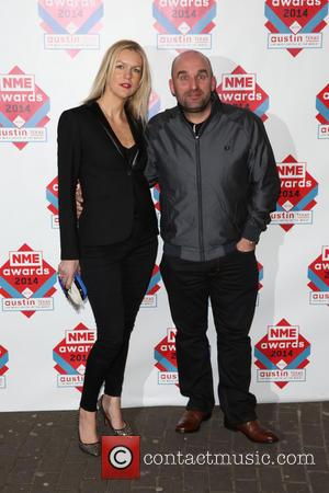 Shane Meadows and wife Louise