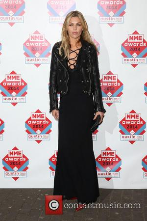 Abbey Clancy and Abbey Crouch - The NME Awards 2014 held at O2 Academy Brixton - Arrivals - London, United...