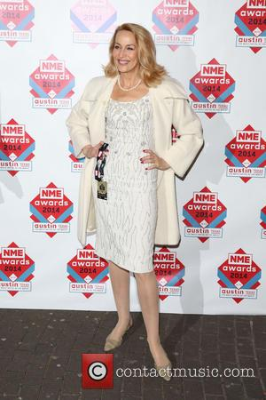 Jerry Hall - The NME Awards 2014 held at O2 Academy Brixton - Arrivals - London, United Kingdom - Wednesday...