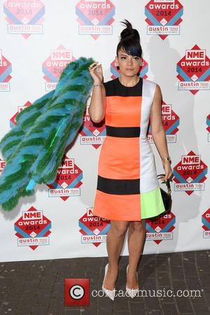 Lily Allen - The NME Awards 2014 held at O2 Academy Brixton - Arrivals - London, United Kingdom - Wednesday...