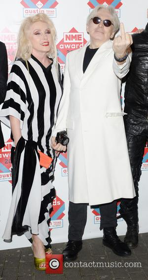 Blondie, Debbie Harry and Chris Stein - The NME Awards 2014 held at O2 Academy Brixton - Arrivals - London,...