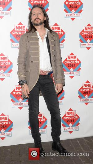 Carl Barat - The NME Awards 2014 held at O2 Academy Brixton - Arrivals - London, Ukraine - Wednesday 26th...