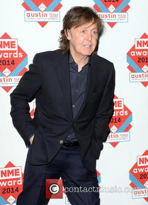 Paul McCartney - The NME Awards 2014