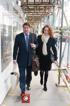 Charlie Brooks and Rebekah Brooks - Defendants arrive at the Old Bailey for another hearing in the phone hacking trial....