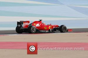 Kimi Raikkonen - Bahrain Formula 1 - Testing Day - Manama, Bahrain - Thursday 27th February 2014