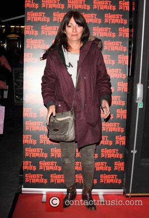 Davina McCall - Ghost Stories Press Night at the Arts Theatre, London - London, United Kingdom - Thursday 27th February...