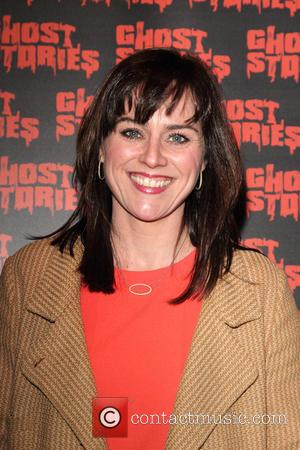 Jill Halfpenny - Ghost Stories Press Night at the Arts Theatre, London - London, United Kingdom - Thursday 27th February...