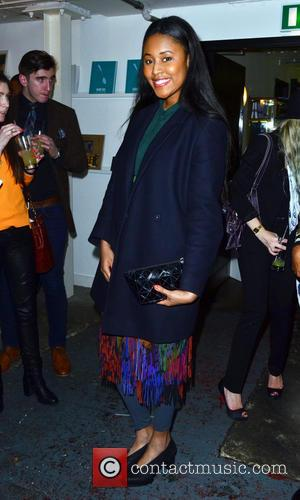 VV BROWN - Guirado Design and The Saatchi Gallery Magazine Party - Arrivals - London, United Kingdom - Thursday 27th...