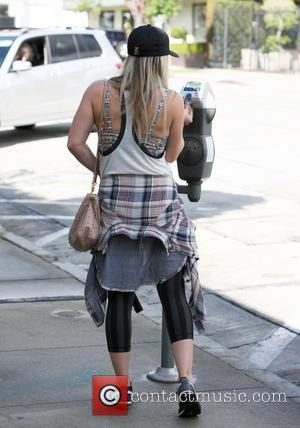 Hilary Duff - Hilary Duff arrives at the gym in West Hollywood, LA. - LA, California, United States - Thursday...