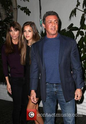 Vanity Fair, Jennifer Flavin, Sistine Rose Stallone, Sly Stallone and Annie Leibovitz