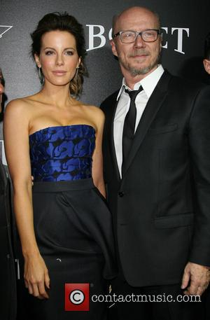 Kate Beckinsale and Paul Haggis