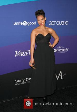 Alicia Keys - Celebrities attend unite4:good and Variety present