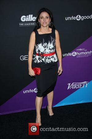 Julia Louis-Dreyfus - unite4:good and Variety present it's first 'unite4:humanity' event at Sony Pictures Studios - Los Angeles, California, United...
