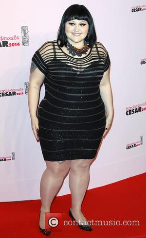 Beth Ditto - 39th Cesar Film Awards - Arrivals - Paris, France - Friday 28th February 2014