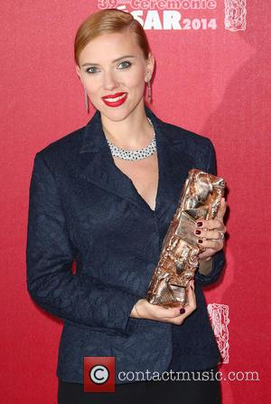 Scarlett Johansson - 39th Cesar Film Awards - Press Room - Paris, France - Friday 28th February 2014