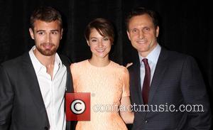 Theo James, Shailene Woodley and Tony Goldwyn