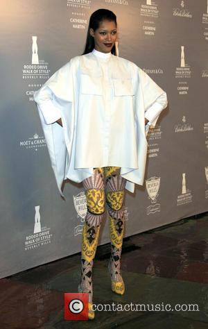 Jessica White - Rodeo Drive Walk Of Style Awards - Arrivals - Los Angeles, California, United States - Friday 28th...