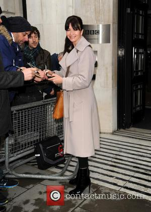 Suzi Perry - Suzi Perry at BBC Radio 2 - London, United Kingdom - Friday 28th February 2014