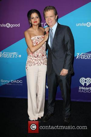 Selena Gomez and William H. Macy