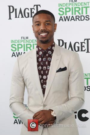 Michael B. Jordan - 2014 Film Independent Spirit Awards at Santa Monica Beach - Santa Monica, California, United States -...