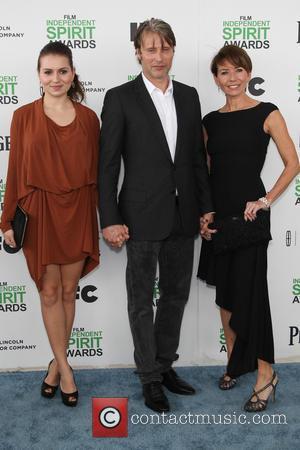 Mads Mikkelsen, Hanne Jacobsen and Viola Mikkelsen