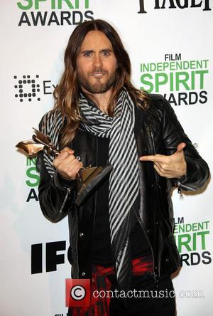 Jared Leto - 2014 Film Independent Spirit Awards at Santa Monica Beach - Santa Monica, California, United States - Saturday...