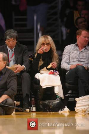 Dyan Cannon - Friday February 28, 2014; Celebs out at the Lakers game. The Los Angeles Lakers defeated the Sacramento...