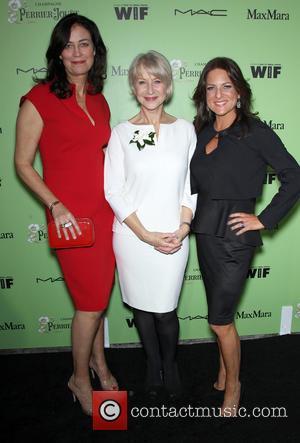 Jane Fleming, Helen Mirren and Women In Film President Cathy Schulman