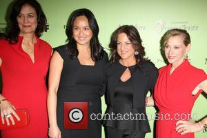 Jane Fleming, Rowena Arguelles, WOMEN IN FILM President Cathy Schulman and Gayle Nachlis - Women In Film Pre-Oscar Cocktail Party...