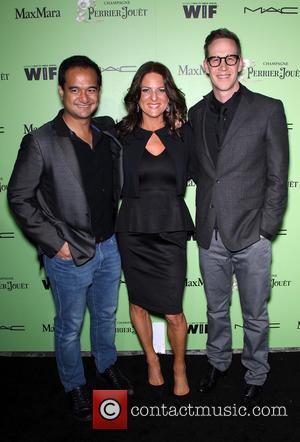 Riza Aziz, Women In Film President Cathy Schulman and Joey Mcfarland