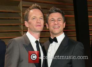 Neil Patrick Harris and David Burtka - Celebrities attend 2013 Vanity Fair Oscar Party at Sunset Plaza. - Los Angeles,...