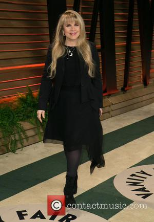 Stevie Nicks - Celebrities attend 2013 Vanity Fair Oscar Party at Sunset Plaza. - Los Angeles, California, United States -...