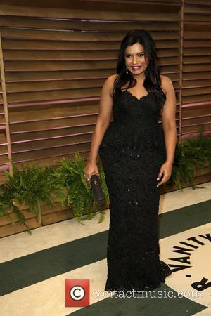 Mindy Kaling - 2014 Vanity Fair Oscar Party held at Sunset Tower in West Hollywood - Los Angeles, California, United...