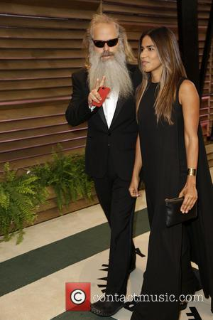 Rick Rubin and Guest - 2014 Vanity Fair Oscar Party held at Sunset Tower in West Hollywood - Los Angeles,...