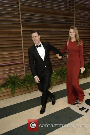 Adam Levine and Behati Prinsloo - 2014 Vanity Fair Oscar Party held at Sunset Tower in West Hollywood - Los...