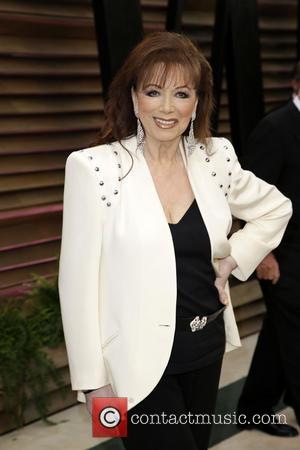 Jackie Collins - 2014 Vanity Fair Oscar Party held at Sunset Tower in West Hollywood - Los Angeles, California, United...