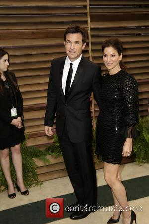 Jason Bateman and Amanda Anka - 2014 Vanity Fair Oscar Party held at Sunset Tower in West Hollywood - Los...