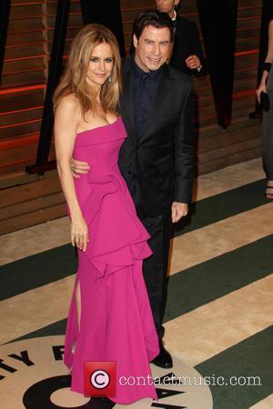 Kelly Preston and John Travolta - 2014VanityFair Oscar Party in West Hollywood - West Hollywood, California, United States - Sunday...