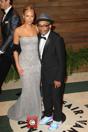 Tonya Lewis Lee and Spike Lee - 2014VanityFair Oscar Party in West Hollywood - West Hollywood, California, United States -...