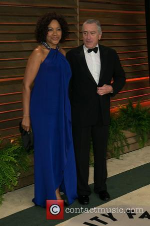 Grace Hightower and Robert De Niro - Vanity Fair Oscar Party - Arrivals - Los Angeles, California, United States -...