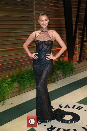 Irina Shayk - Vanity Fair Oscar Party - Arrivals - Los Angeles, California, United States - Sunday 2nd March 2014