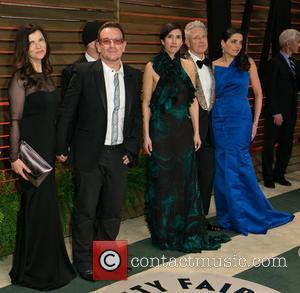 Bono, Ali Hewson, Choreographer Morleigh Steinberg, And Model Mariana Teixeira De Carvalho, The Edge, Adam Clayton and Vanity Fair