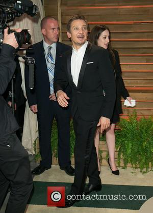 Jeremy Renner - Vanity Fair Oscar Party - Arrivals - Los Angeles, California, United States - Sunday 2nd March 2014