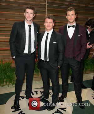 Liam Hemsworth, Luke Hemsworth and Chris Hemsworth