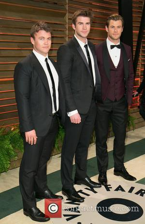Luke Hemsworth, Liam Hemsworth and Chris Hemsworth